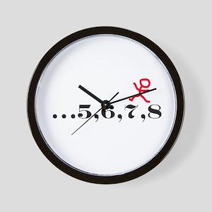 5,6,7,8 Wall Clock
