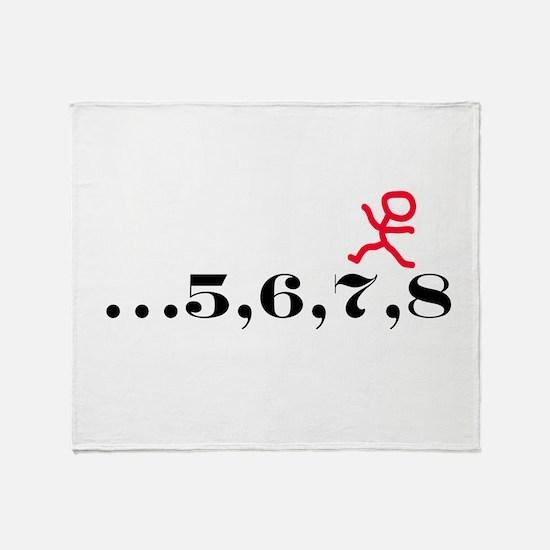 5,6,7,8 Throw Blanket