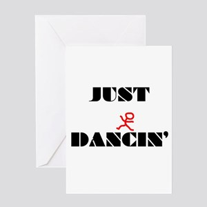 Just Dancin Greeting Card