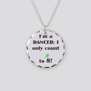 Only Count To 8 Necklace Circle Charm