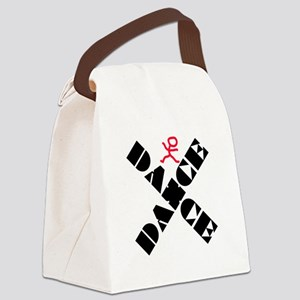 Dance Marks The Spot Canvas Lunch Bag