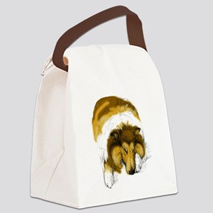 Chase, Asleep Canvas Lunch Bag