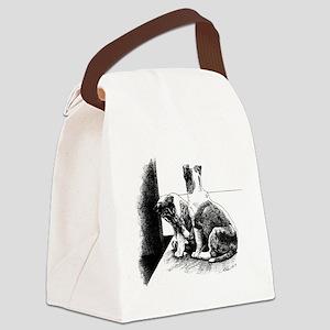 Puppy Feet Canvas Lunch Bag