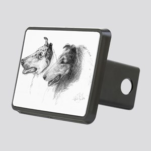 Rough and Smooth Collie Rectangular Hitch Cover