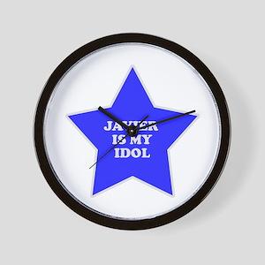 Javier Is My Idol Wall Clock