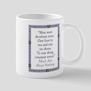 Men Were Deceivers Ever 11 oz Ceramic Mug