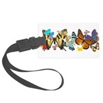 Butterflies Large Luggage Tag