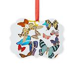 Butterflies Picture Ornament