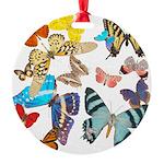Butterflies Round Ornament