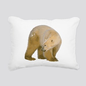 c173h0004polarbear Rectangular Canvas Pillow