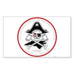 Blackbeard Copyright Sticker (Rectangle 10 pk)