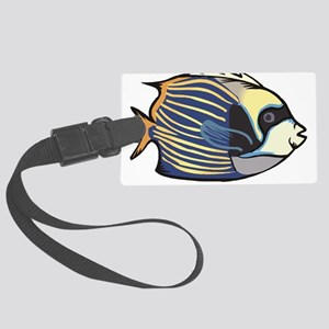 Tropical Fish Large Luggage Tag