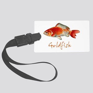 Goldfish Large Luggage Tag