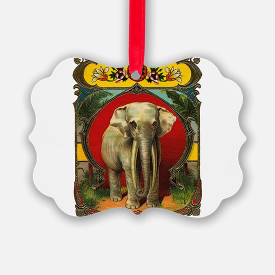 White Elephant Ornament