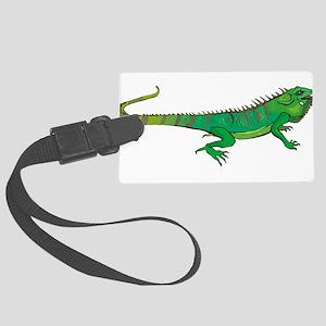 Iguana Large Luggage Tag