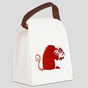 Ringtail Lemur Canvas Lunch Bag