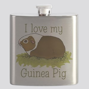 I Love my Guinea Pig Flask