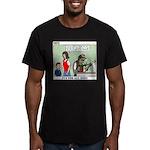 Car Race Men's Fitted T-Shirt (dark)