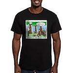 Wilderness Survival Men's Fitted T-Shirt (dark)