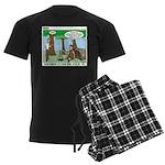 Wilderness Survival Men's Dark Pajamas