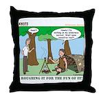 Wilderness Survival Throw Pillow