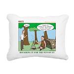 Wilderness Survival Rectangular Canvas Pillow