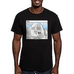 Sculpture Men's Fitted T-Shirt (dark)