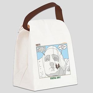 Sculpture Canvas Lunch Bag