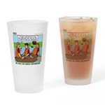 Rowing Drinking Glass