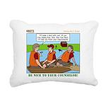 Rowing Rectangular Canvas Pillow