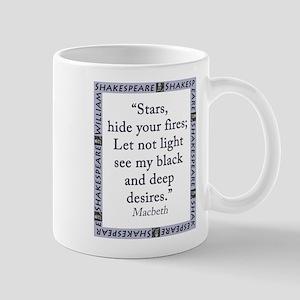 Stars, Hide Your Fires 11 oz Ceramic Mug