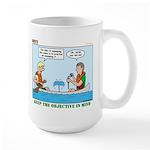 Canoeing Large Mug