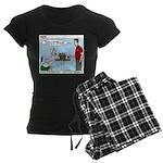 Basket Weaving Women's Dark Pajamas