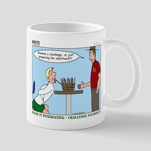 Basket Weaving Mug