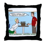 Basket Weaving Throw Pillow
