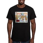 Animal Science Men's Fitted T-Shirt (dark)