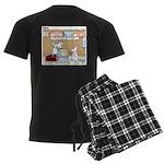 Animal Science Men's Dark Pajamas