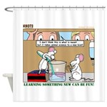 Animal Science Shower Curtain
