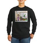 Meetings Long Sleeve Dark T-Shirt