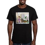 Meetings Men's Fitted T-Shirt (dark)