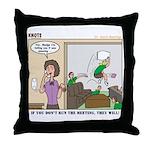 Meetings Throw Pillow