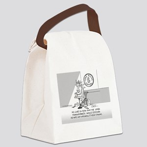 Near Side: High Strung Canvas Lunch Bag