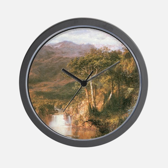 Frederic Edwin Church Heart Of Andes Wall Clock