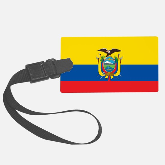 Flag of Ecuador Luggage Tag