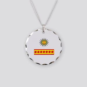 CHEROKEE INDIAN Necklace Circle Charm