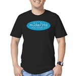 Midwives help people out Men's Fitted T-Shirt (dar