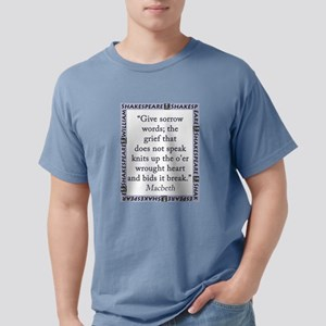 Give Sorrow Words Mens Comfort Colors Shirt