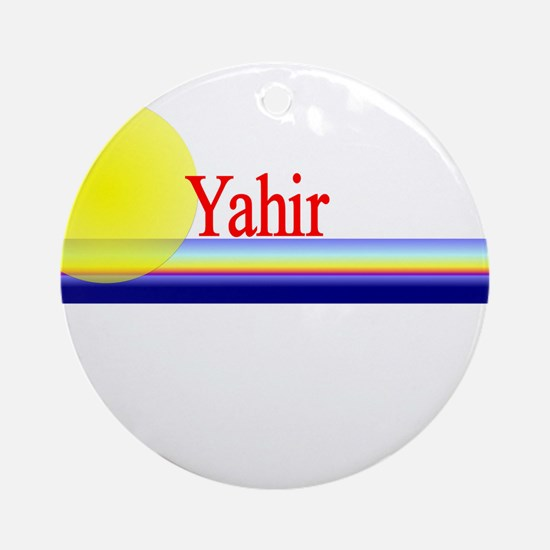 Yahir Ornament (Round)