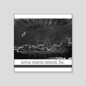 Charcoal Anna Maria Island, Fla., sky Square Stick