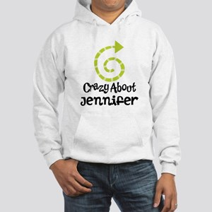 Personalized Couples Crazy Hooded Sweatshirt